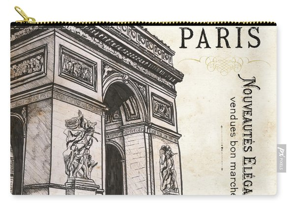 Paris Ooh La La 2 Carry-all Pouch