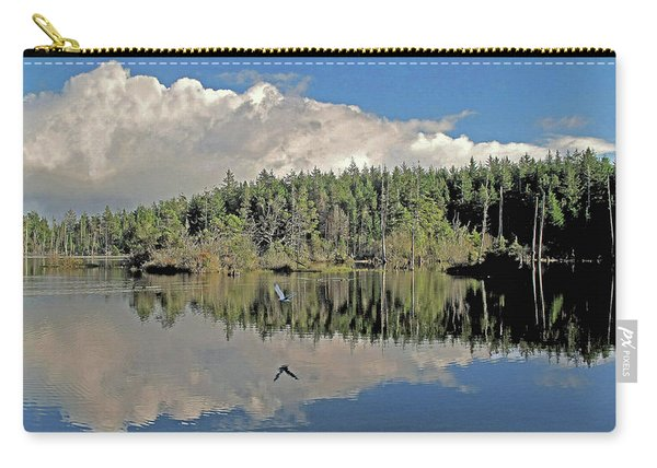 Pause And Reflect Carry-all Pouch