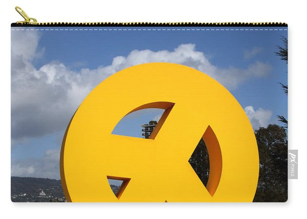 Peace From The Oakland Museum . Oakland California . 7d13411 Carry-all Pouch