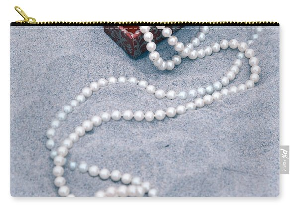Pearl Necklace Carry-all Pouch