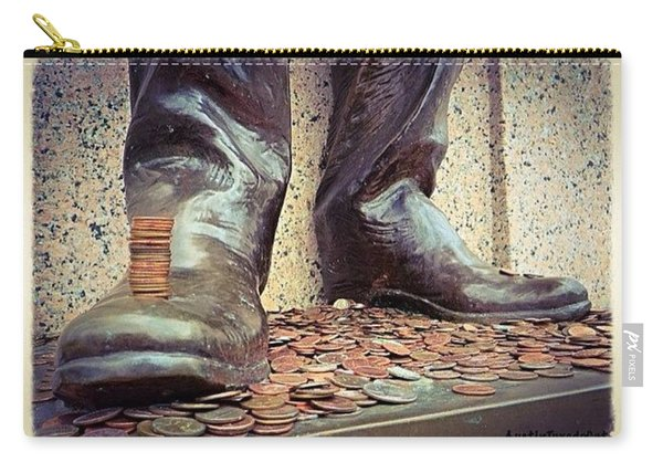 #pennies And A Good #luck #tradition At Carry-all Pouch