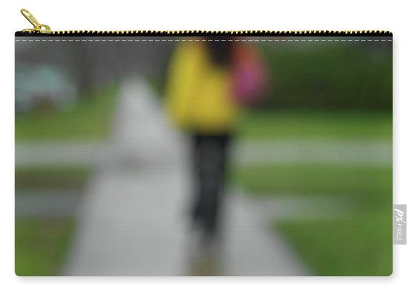 People In The Rain Carry-all Pouch