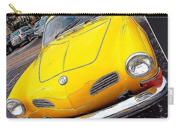 Photoshopping The #yellow #karminnghia Carry-all Pouch