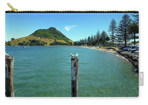 Pilot Bay Beach 1 - Mt Maunganui Tauranga New Zealand Carry-all Pouch