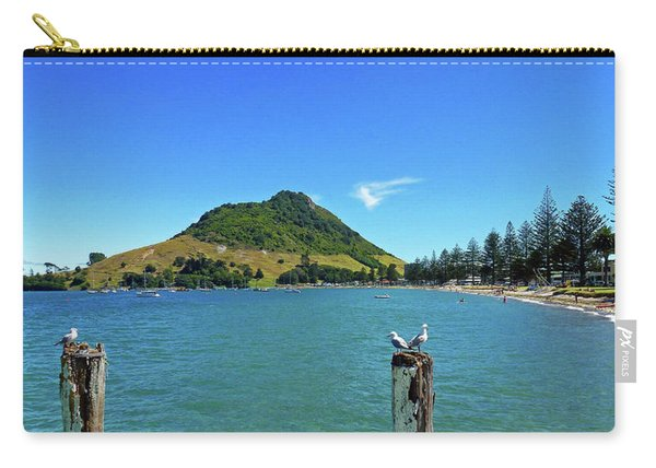 Pilot Bay Beach 2 - Mount Maunganui Tauranga New Zealand Carry-all Pouch