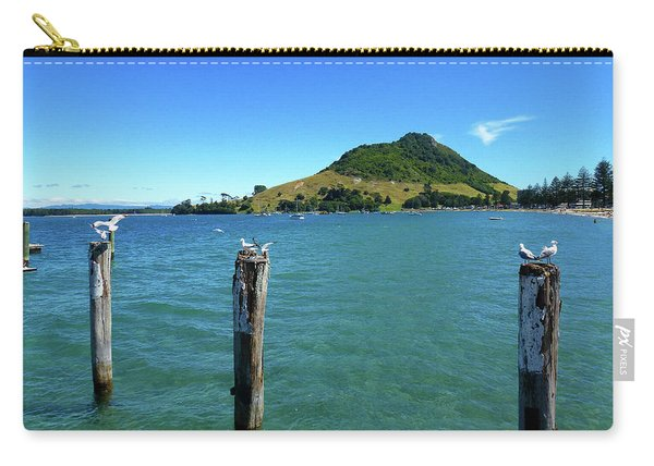 Pilot Bay Beach 3 - Mt Maunganui Tauranga New Zealand Carry-all Pouch