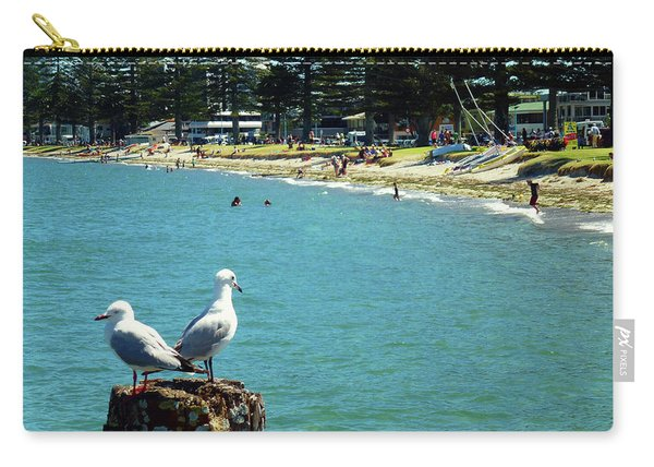 Pilot Bay Beach 4 - Mount Maunganui Tauranga New Zealand Carry-all Pouch