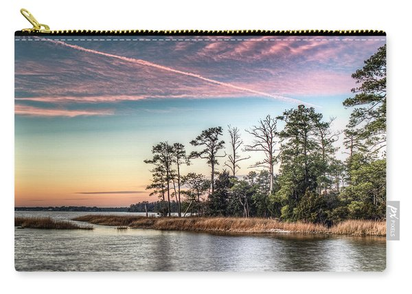 Pink Sky At Night Carry-all Pouch