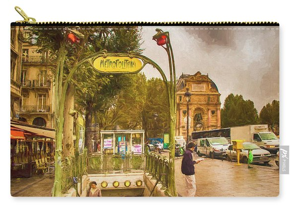Place St. Michel Carry-all Pouch