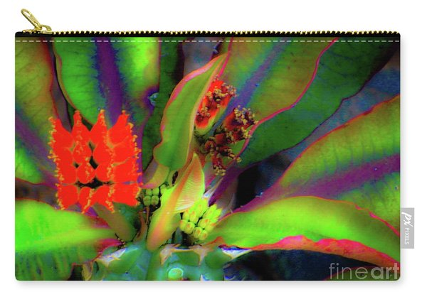 Plants And Flowers In Hawaii Carry-all Pouch