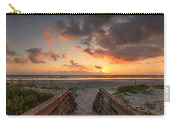 Ponce De Leon Inlet Beach Path Carry-all Pouch