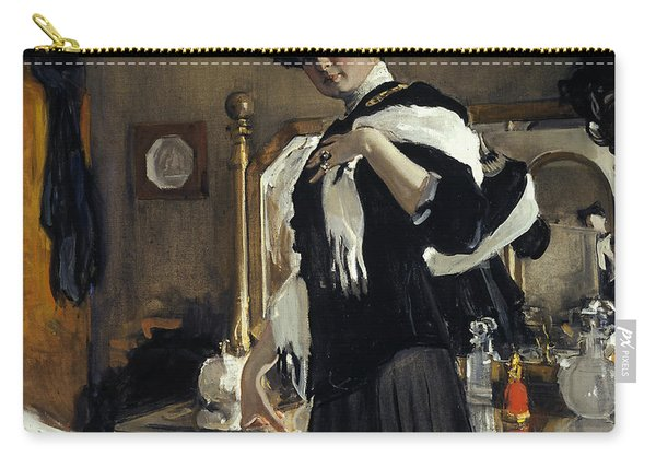 Portrait Of Henriette Girshman Carry-all Pouch