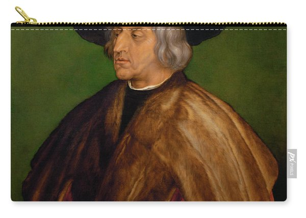 Portrait Of Maximilian I Carry-all Pouch
