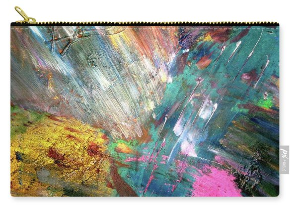 Carry-all Pouch featuring the painting Prana by Michael Lucarelli