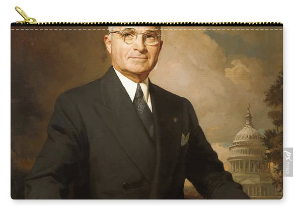 President Harry Truman Carry-all Pouch