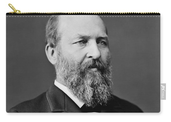 President James Garfield Photo Carry-all Pouch