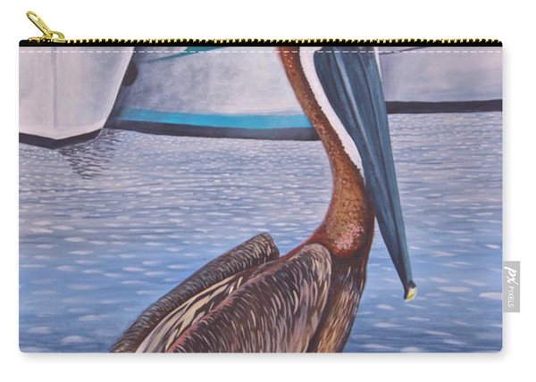 Pride Of Shem Creek Carry-all Pouch