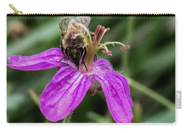 Purple Flower 3 Carry-all Pouch