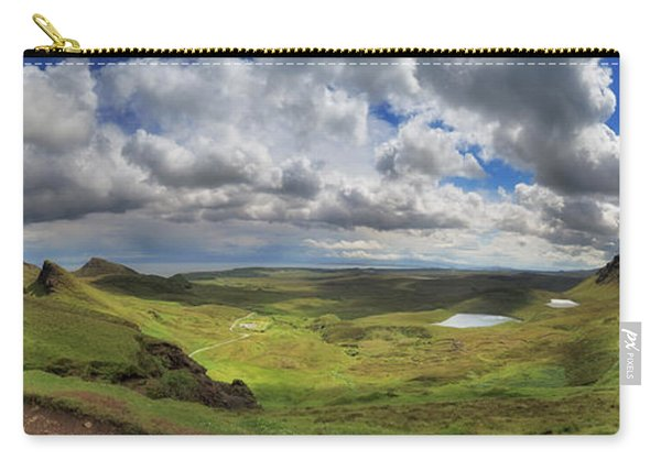 Quiraing And Trotternish - Panorama Carry-all Pouch