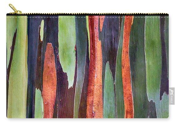 Rainbow Eucalyptus Carry-all Pouch