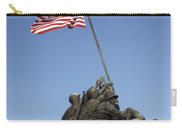 Raising The Flag On Iwo - 799 Carry-all Pouch