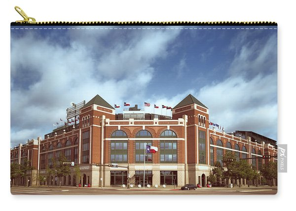 Rangers Ballpark In Arlington Carry-all Pouch