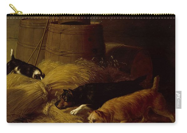 Rats In The Barley Sheaves Carry-all Pouch