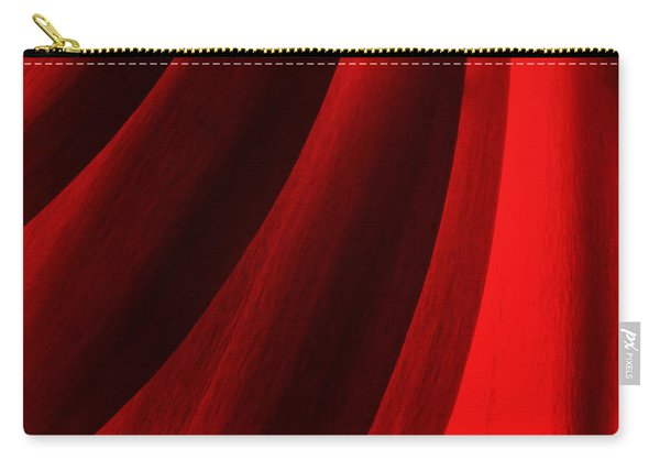 Red Chrysanthemum Dawn Rising Carry-all Pouch