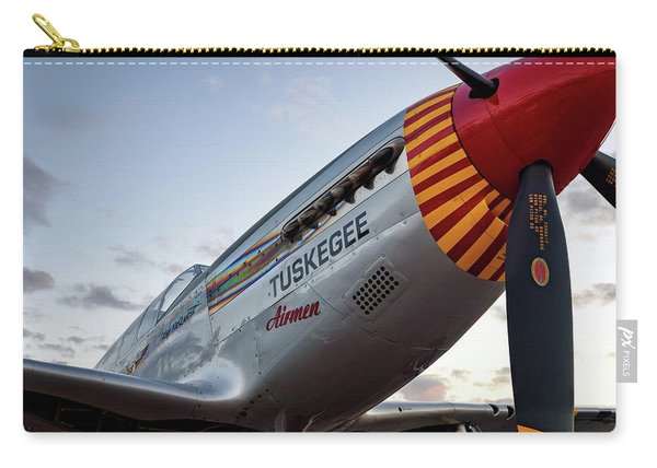Red Tail At Dusk - 2017 Christopher Buff, Www.aviationbuff.com Carry-all Pouch