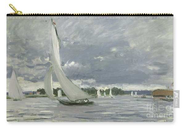Regatta At Argenteuil Carry-all Pouch