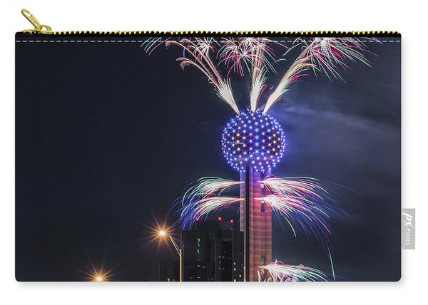 Reunion Tower Fireworks Carry-all Pouch