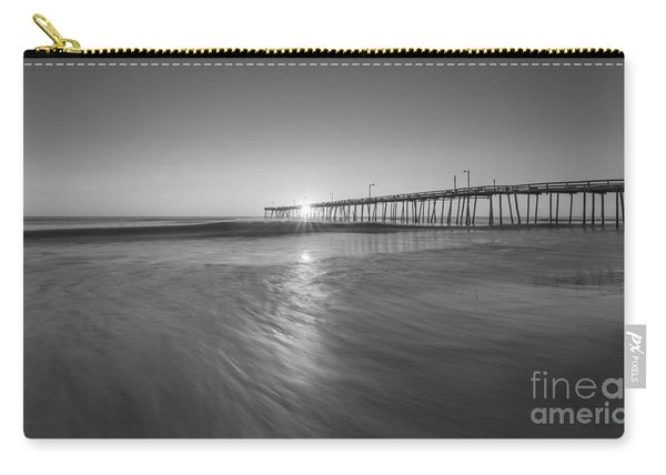 Rise And Shine At Nags Head Pier Carry-all Pouch