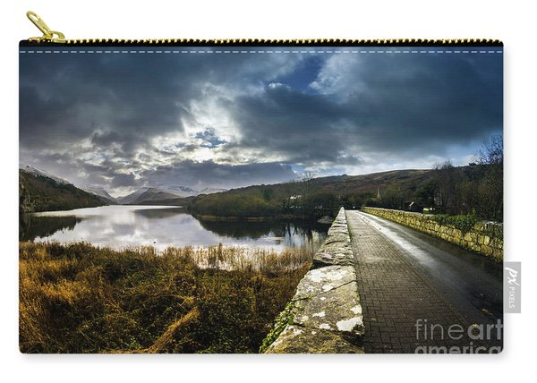 Road To Snowdon Carry-all Pouch