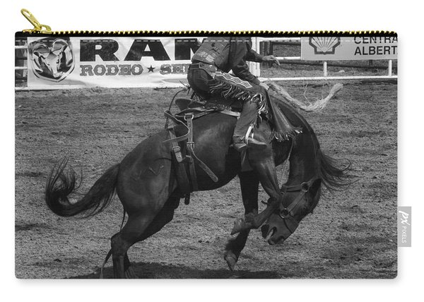 Rodeo Saddleback Riding 5 Carry-all Pouch