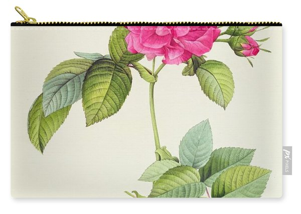 Rosa Turbinata Carry-all Pouch