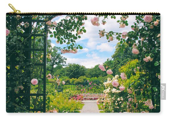 Rose Pergola Carry-all Pouch