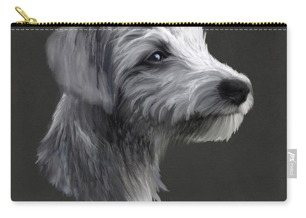 Rough Coated Lurcher  Carry-all Pouch