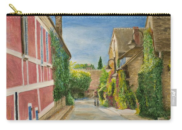Rue Claude Monet Carry-all Pouch