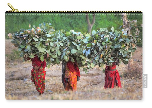 rural Rajasthan Carry-all Pouch