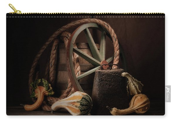 Rustic Still Life Carry-all Pouch