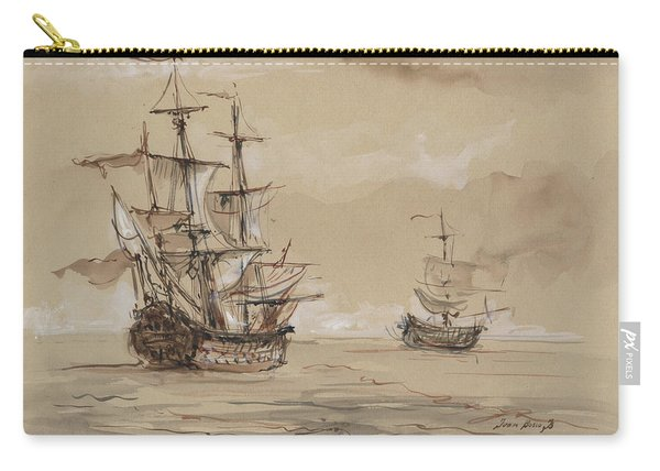 Sail Ships Carry-all Pouch