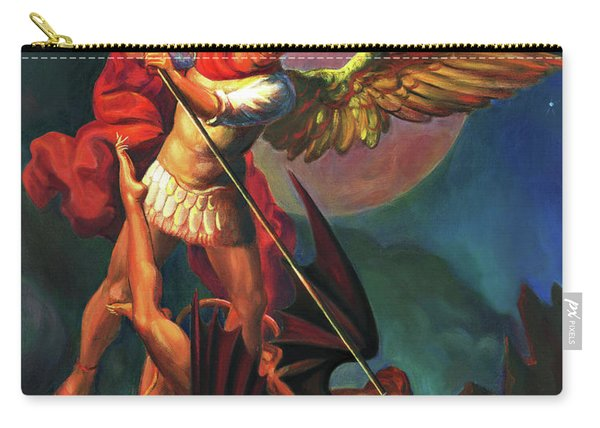 Saint Michael The Warrior Archangel Carry-all Pouch