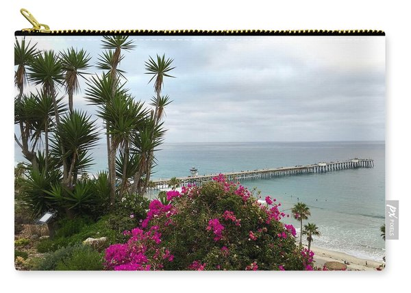 San Clemente Pier Carry-all Pouch