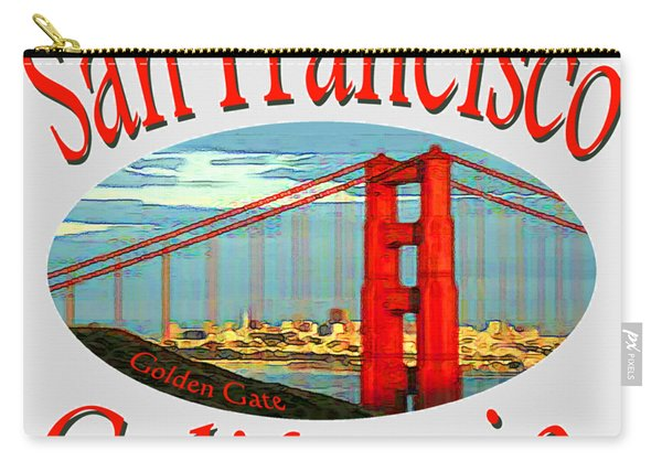 San Francisco California Design Carry-all Pouch