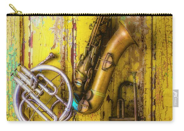 Sax French Horn And Trumpet Carry-all Pouch