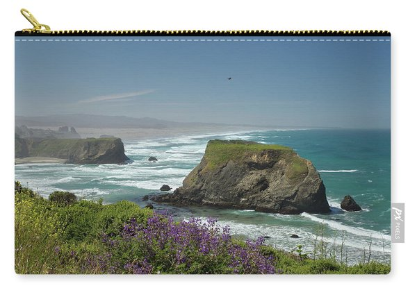 Sea Stacks And Surf Carry-all Pouch