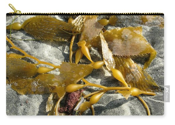 Seaweed On Sand Carry-all Pouch