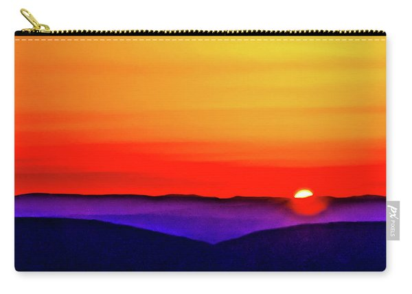 Shenandoah Valley Sunset Carry-all Pouch