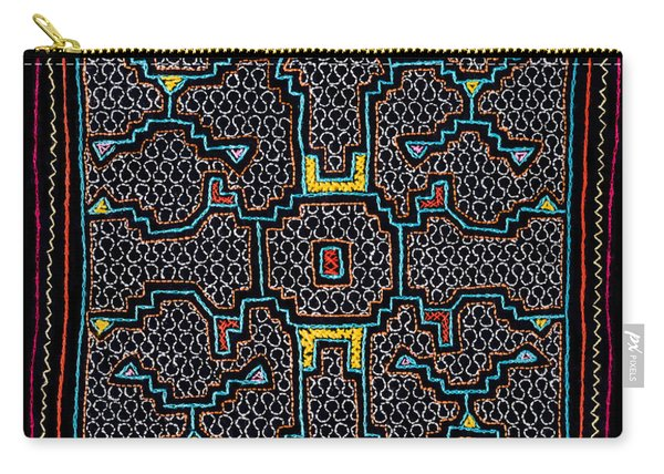 Shipibo Art Carry-all Pouch