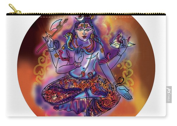 Shiva Dhyan Carry-all Pouch